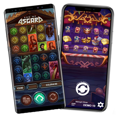 Play Slot Machines on Mobile Devices